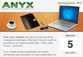Technology Event – 5 Junio